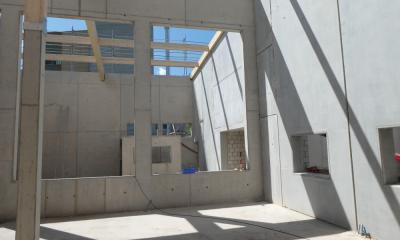 Blick vom Wirtshaus ins Sudhaus